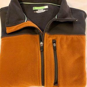 Men's Tek Gear Zip Up warm layering Jacket